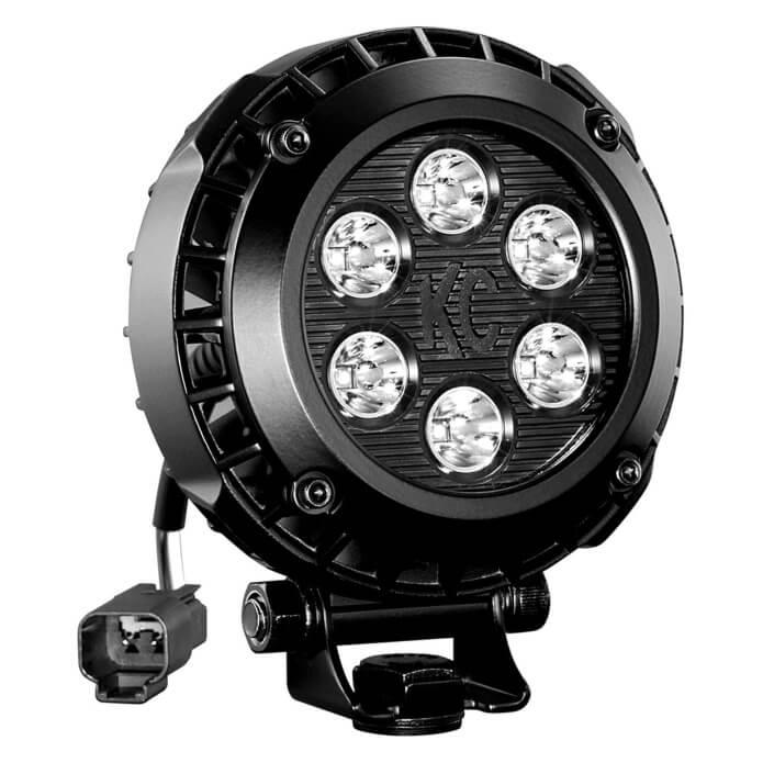 "KC Hilites LZR Series 4"" Round LED Light"