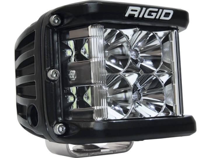 Rigid D-SS Black Finish LED Light